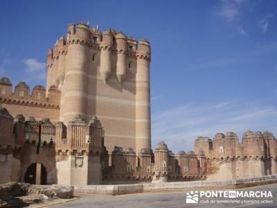Coca - Ruta de castillos - Castillos Valladolid - Castillos Segovia- Castillo Coca; viajar sola; sie